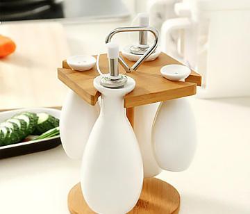 简约宜家风格陶瓷酱油瓶