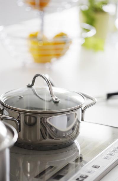 高档创意不锈钢锅