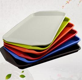 中式快餐托盘长方形托盘